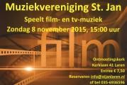 Muziekvereniging St. Jan speelt filmmuziek