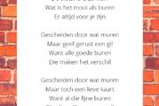 Dorpsdichter Anne Roozeboom over 'De Burenkaart'